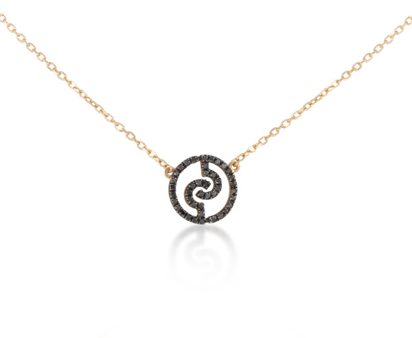 NECKLACE CEDILLE LOGO