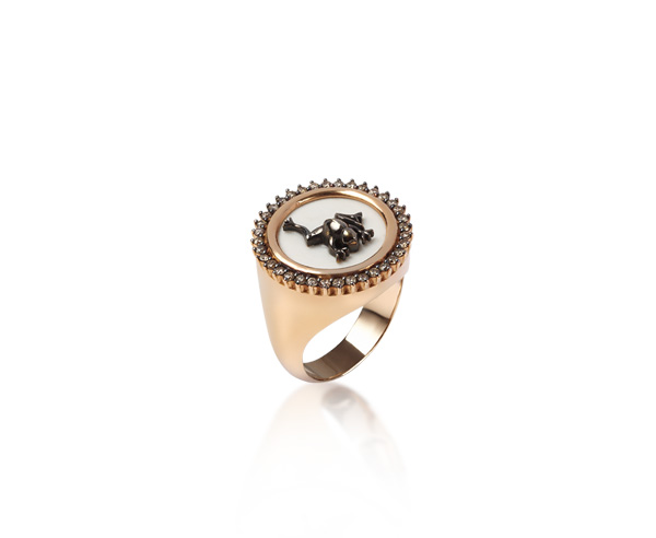 RING CHEVALIERE FROG