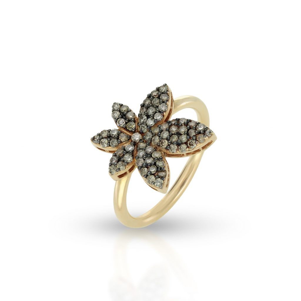 RING LUCKY LEAF